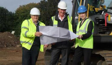 Foundations Started At Beacon Gardens, Grantham