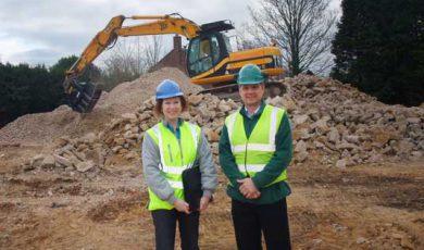 Work Starts On Site At Roman Mills, Stamford